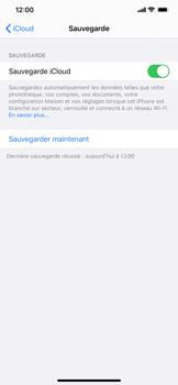 Apple iPhone XS Max - iOS 13 - Données - créer une sauvegarde avec votre compte - Étape 14