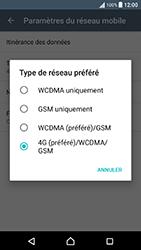 Sony Xperia X Performance (F8131) - Réseau - Changer mode réseau - Étape 7