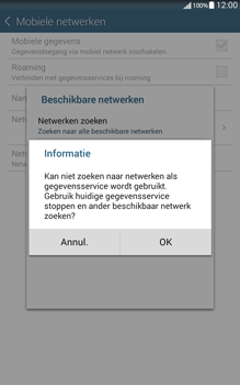 Samsung Galaxy Tab 4 (T335) - Netwerk - Handmatig netwerk selecteren - Stap 10