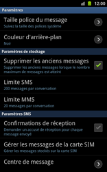 Samsung N7000 Galaxy Note - SMS - Configuration manuelle - Étape 4
