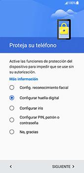 Samsung Galaxy S8 - Primeros pasos - Activar el equipo - Paso 11