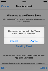 Apple iPhone 4s iOS 8 - Applications - Downloading applications - Step 12