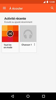 Motorola Moto E4 Plus - Photos, vidéos, musique - Ecouter de la musique - Étape 5