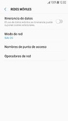Samsung Galaxy J5 (2017) - Red - Seleccionar el tipo de red - Paso 8