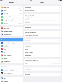Apple iPad Pro 12.9 (1st gen) - iOS 10 - WiFi et Bluetooth - Jumeler votre téléphone avec un accessoire bluetooth - Étape 3