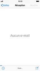 Apple iPhone 5s - iOS 12 - E-mail - Envoi d