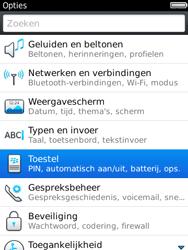 BlackBerry 9800 Torch - Instellingen - ontvangen via SMS - Stap 4