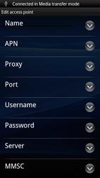 Sony Ericsson Xperia Ray - Mms - Manual configuration - Step 8