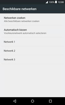 Alcatel Pixi 3 (8) - Netwerk - Handmatig netwerk selecteren - Stap 12