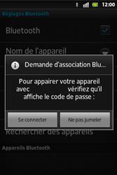 Sony ST27i Xperia Go - Bluetooth - connexion Bluetooth - Étape 10