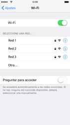 Apple iPhone 6s iOS 9 - WiFi - Conectarse a una red WiFi - Paso 5