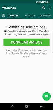 Samsung Galaxy S8 - Aplicações - Como configurar o WhatsApp -  14