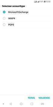 LG Q7 - E-mail - Account instellen (POP3 zonder SMTP-verificatie) - Stap 9