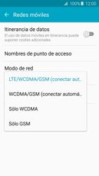 Samsung Galaxy A5 (2016) - Red - Seleccionar el tipo de red - Paso 6