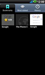 LG P990 Optimus 2X Speed - Internet - Internet browsing - Step 9