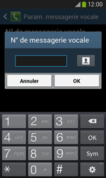 Samsung S7275 Galaxy Ace 3 - Messagerie vocale - configuration manuelle - Étape 9