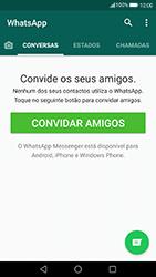 Huawei P8 Lite (2017) - Aplicações - Como configurar o WhatsApp -  15