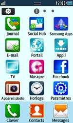 Samsung Wave 723 - Premiers pas - Configurer l