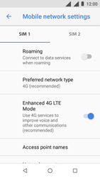Nokia 1 - Network - Change networkmode - Step 8