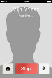 Apple iPhone 4 - Applicaties - FaceTime gebruiken - Stap 10