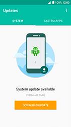 Alcatel Shine Lite - Network - Installing software updates - Step 8