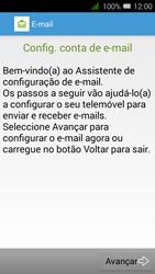 Alcatel Pixi 3 - Email - Configurar a conta de Email -  5