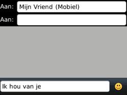 BlackBerry 9320 Curve - MMS - Afbeeldingen verzenden - Stap 8