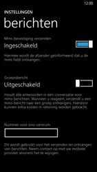 Nokia Lumia 930 - SMS - SMS-centrale instellen - Stap 8
