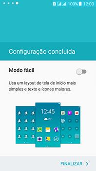 Samsung Galaxy J7 - Primeiros passos - Como ativar seu aparelho - Etapa 16