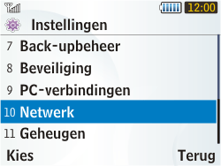 Samsung S3350 Chat 335 - Netwerk - gebruik in het buitenland - Stap 7
