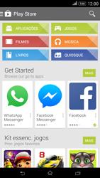Sony Xperia E4 - Aplicações - Como pesquisar e instalar aplicações -  4
