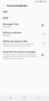 Samsung Galaxy S9 Plus - SMS - configuration manuelle - Étape 7