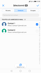 Honor 6A - E-mails - Envoyer un e-mail - Étape 8