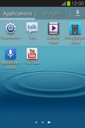 Samsung S6810P Galaxy Fame - Internet - configuration manuelle - Étape 4