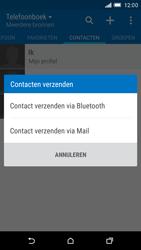 HTC One M9 (Model 0PJA100) - Contacten en data - Contacten overzetten via Bluetooth - Stap 9