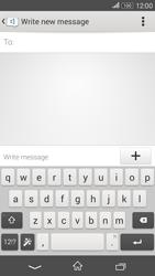 Sony E2003 Xperia E4 G - Mms - Sending a picture message - Step 4