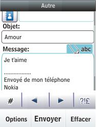 Nokia C2-03 - E-mail - envoyer un e-mail - Étape 12