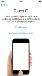 Apple iPhone 6 iOS 10 - Primeros pasos - Activar el equipo - Paso 11