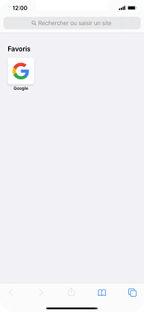 Apple iPhone XS Max - iOS 13 - Internet - navigation sur Internet - Étape 12