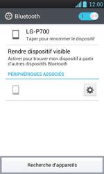 LG P700 Optimus L7 - Bluetooth - connexion Bluetooth - Étape 11