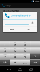 Acer Liquid Jade Z - Voicemail - Manual configuration - Step 12