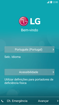 LG G4 - Primeiros passos - Como ligar o telemóvel pela primeira vez -  4