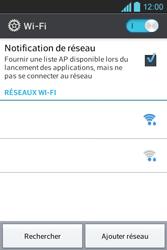LG E610 Optimus L5 - Wifi - configuration manuelle - Étape 5