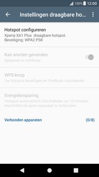 Sony Xperia XA1 Plus (G3421) - WiFi - Mobiele hotspot instellen - Stap 7
