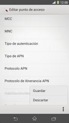 Sony Xperia Z1 - Internet - Configurar Internet - Paso 17