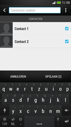 HTC One Mini - Contacten en data - Contacten kopiëren van toestel naar SIM - Stap 10