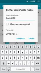 Samsung Galaxy J3 (2016) - Internet et connexion - Partager votre connexion en Wi-Fi - Étape 8