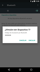 LG Google Nexus 5X (H791F) - Bluetooth - Conectar dispositivos a través de Bluetooth - Paso 7