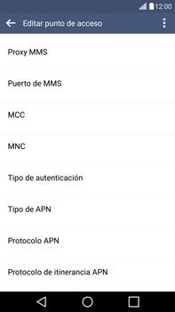 LG G4 - Mensajería - Configurar el equipo para mensajes multimedia - Paso 12
