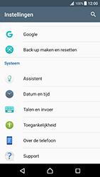 Sony xperia-xz-premium-g8141 - Resetten - Fabrieksinstellingen terugzetten - Stap 4